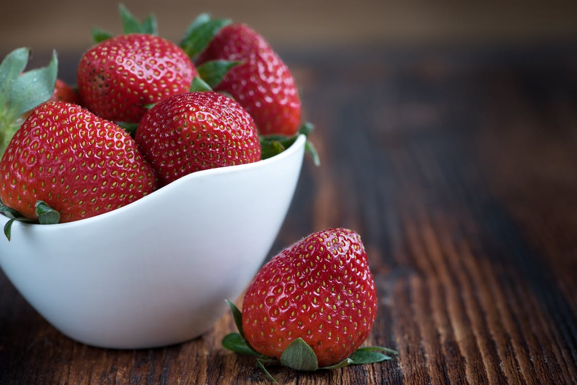 Fun fact about strawberries: There are 200 seeds on an average strawberry! Mind = blown.