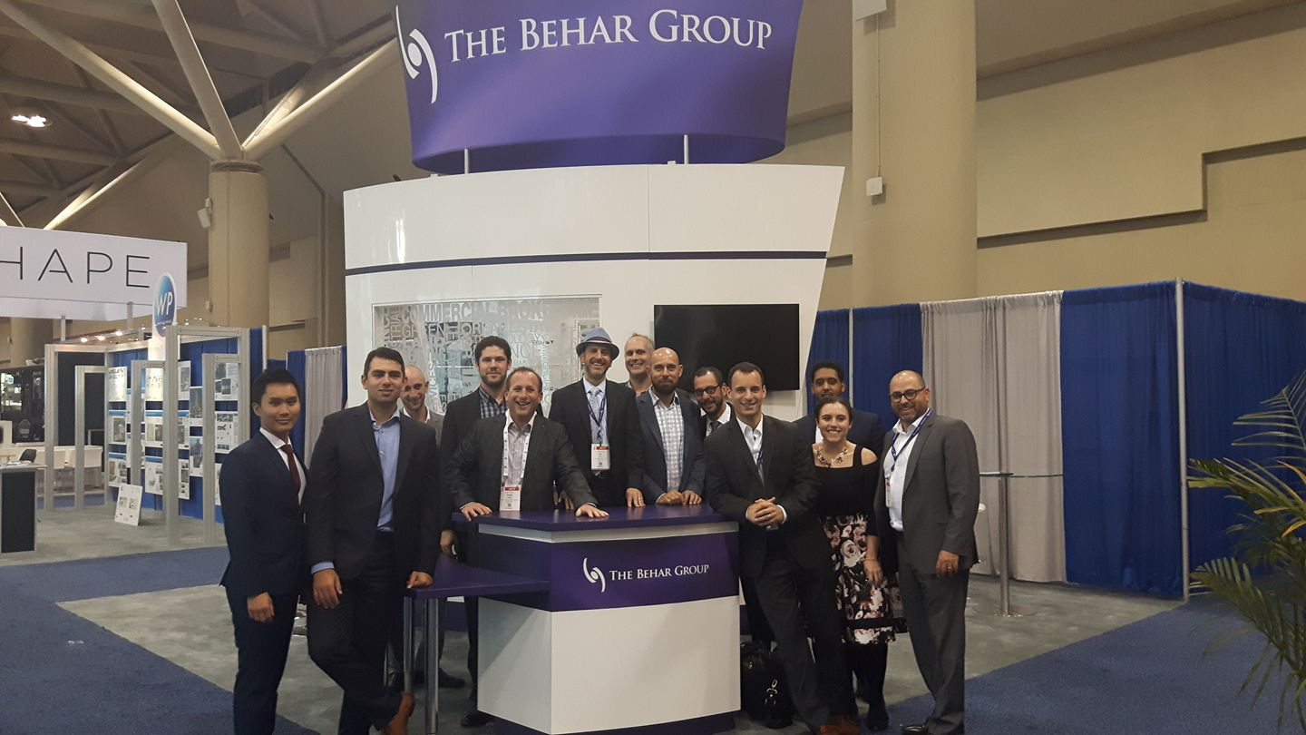 Daniel and a few others from #TeamBehar at The  ICSC 2017  Toronto convention.