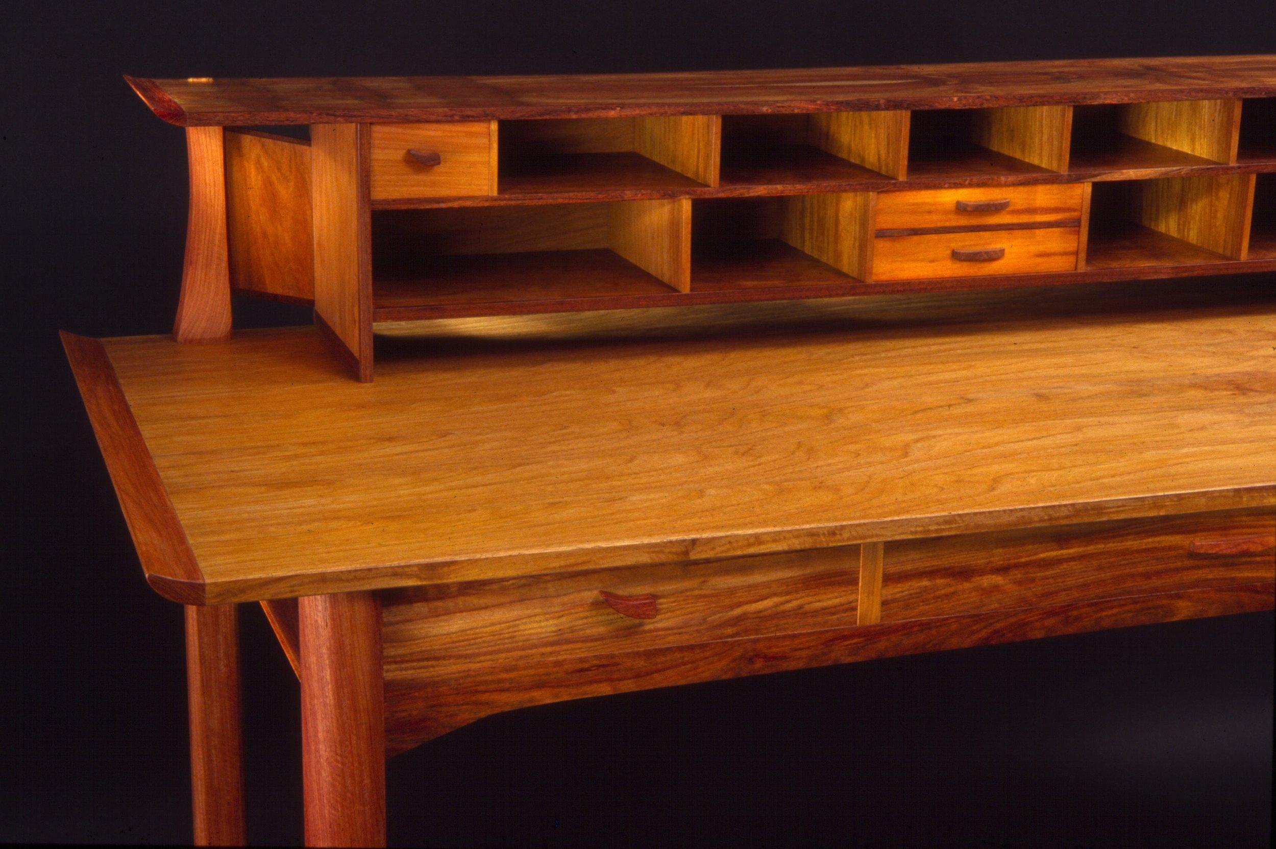 Desk, narra and chechen woods