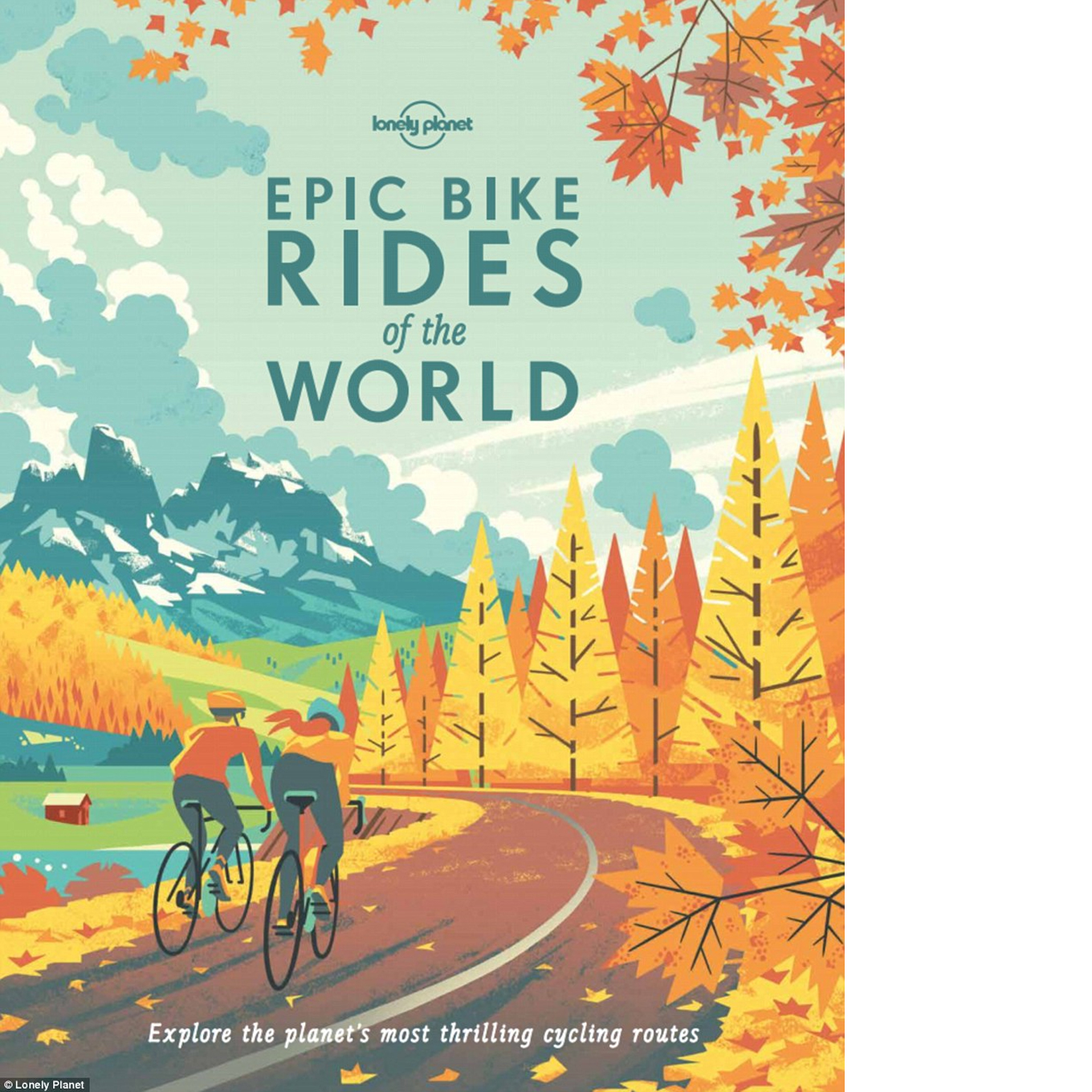 Epic Bike Rides of the World  (Lonely Planet) September 20, 2016  Discover 200 of the best places to ride a bike. From family-friendly, sightseeing urban rides to epic adventures off the beaten track. Destinations range from France and Italy, for the world's great bike races, to the wilds of Mongolia and Patagonia. These journeys will inspire - whether you are an experienced cyclist or just getting started.    $17.30 Kindle    |    $23.12 Hardcover