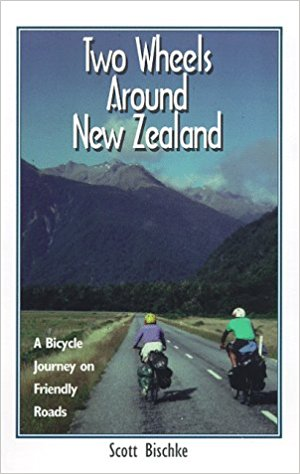Two Wheels Around New Zealand: A Bicycle Journey on Friendly Roads    Scott Bischke and Katie Gibson have done what many of us dream. They quit their jobs and traded their possessions for a year of travel and simplicity. During the course of their journey, Scott and Katie biked more than 8,000 kilometers and experienced much of New Zealand's culture and beauty.
