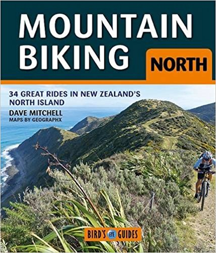 Mountain Biking North: 34 Great Rides in New Zealand's North Island (Bird's Eye Guides)    New Zealand's North Island has a wide range of world-class mountain biking tracks and Mountain Biking North is a guide to 34 of the best of these rides. Selected by expert mountain biker and photographer Dave Mitchell, they range from straightforward and easy rides close to our urban areas, through to hard and challenging trips deep into the wilderness.