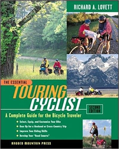 The Essential Touring Cyclist: A Complete Guide for the Bicycle Traveler, Second Edition   The classic guide for beginning and intermediate cyclists is back―and it's better than ever. With the latest on bikes, gear, and training techniques and new sections on short tours, and touring abroad, this new edition of The Essential Touring Cyclist promises to appeal to a whole new population of aspiring cyclists.