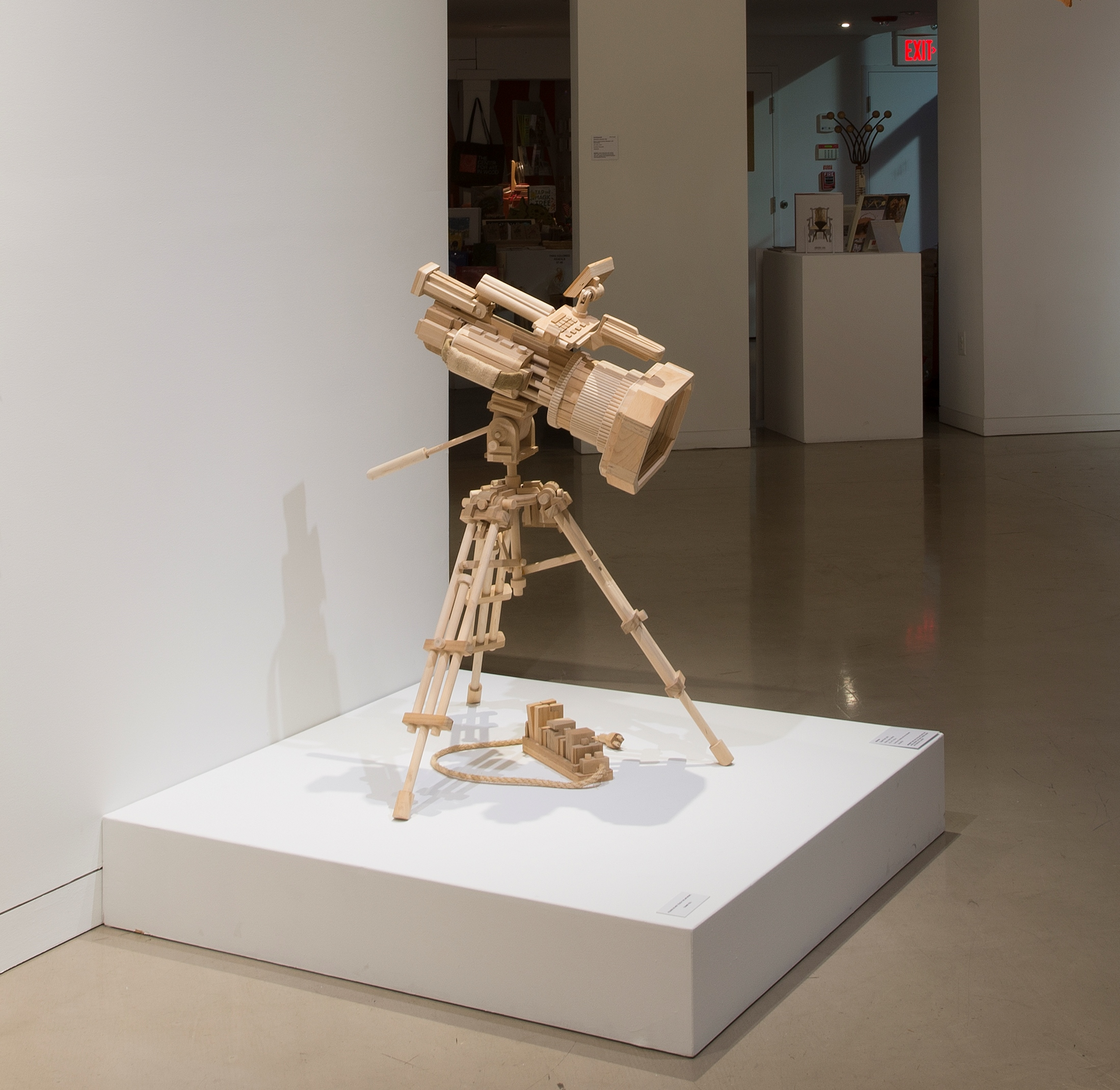 Mike Rea  , Super Porn , 2011.Wood, rope, burlap.42 x 47 x 35 in.Courtesy of Andrew and Amy Falkowski.2016.MR.01. Photo: John Carlano   METHOD: Table saw, chop saw, band saw, angle grander, pin nailer, orbital sander and stationary sander
