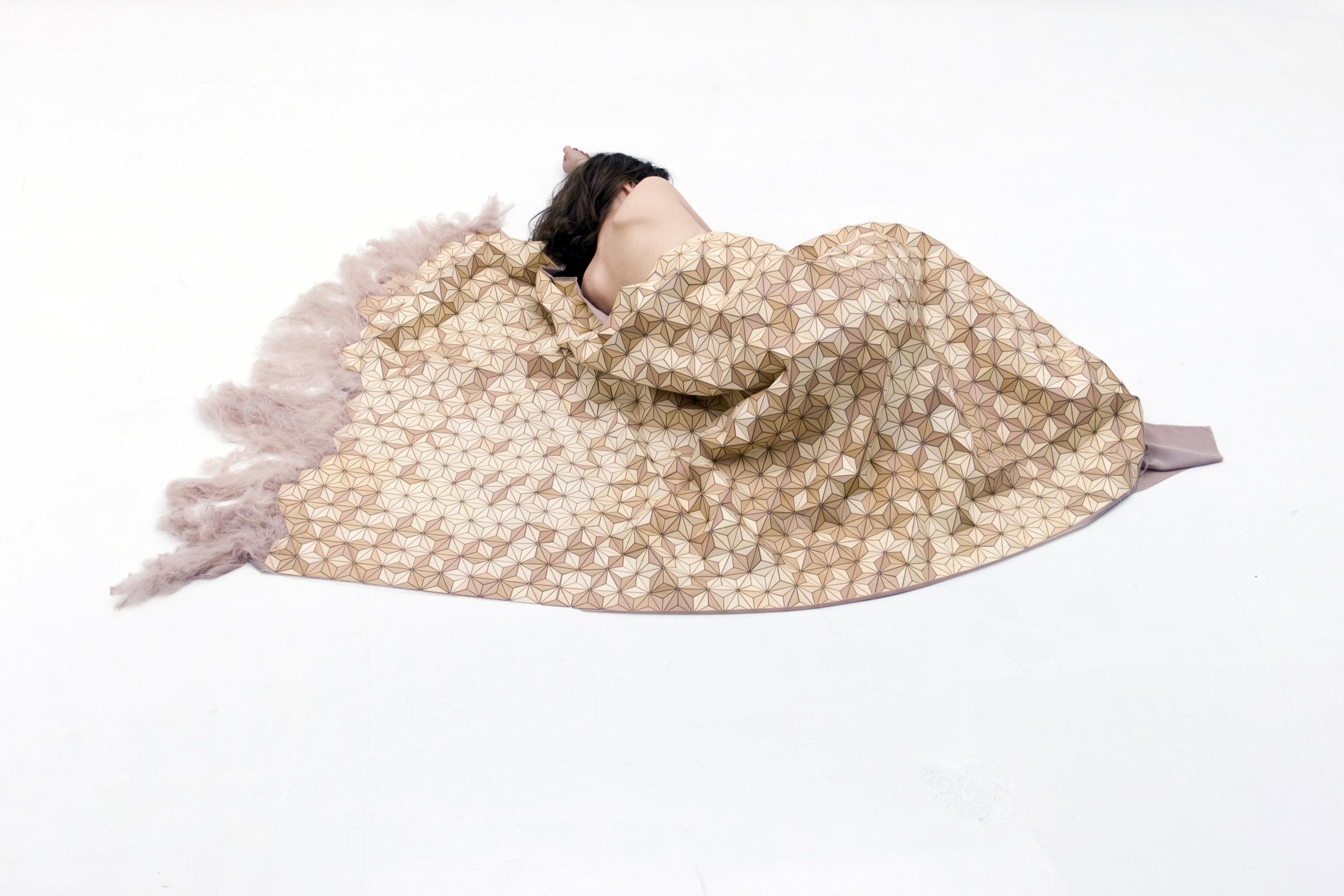 Wooden Textile, No 1, 2010
