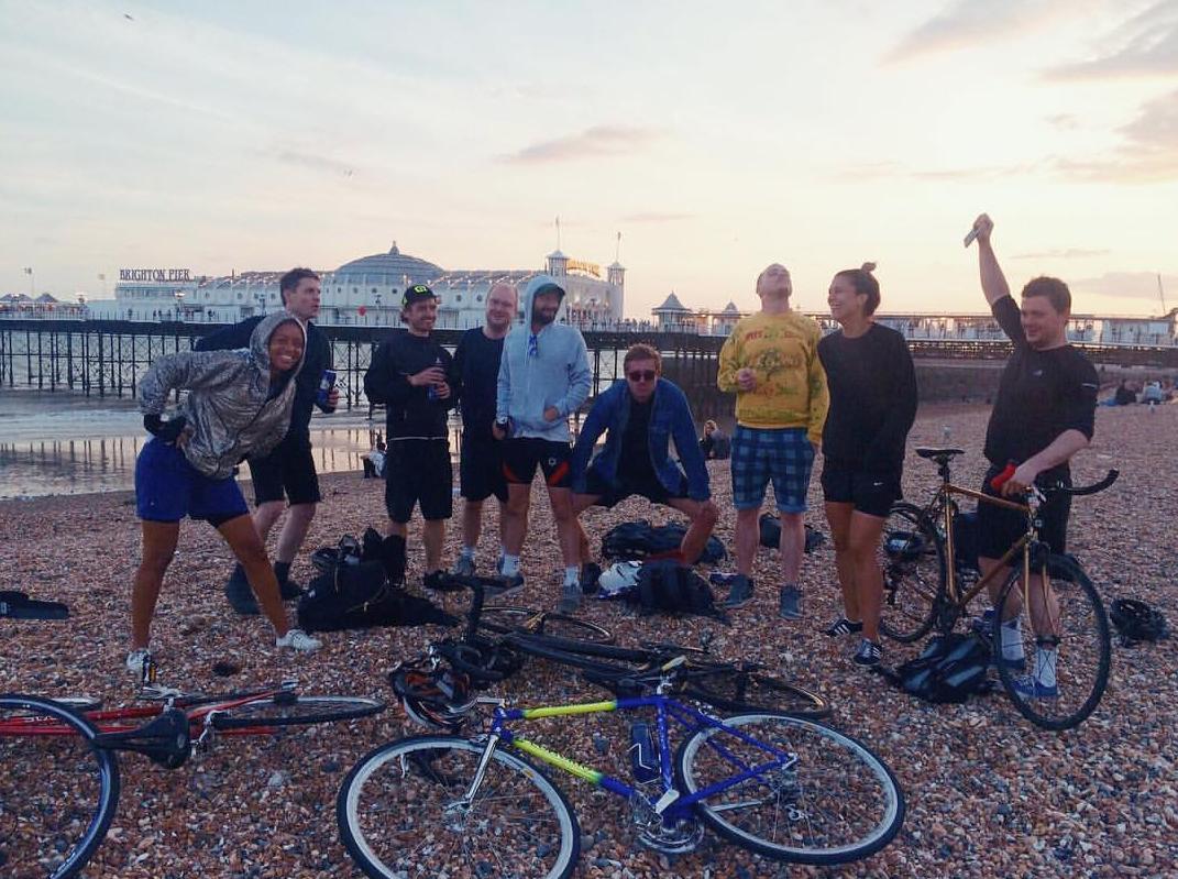 Brighton Peer Cycle crew