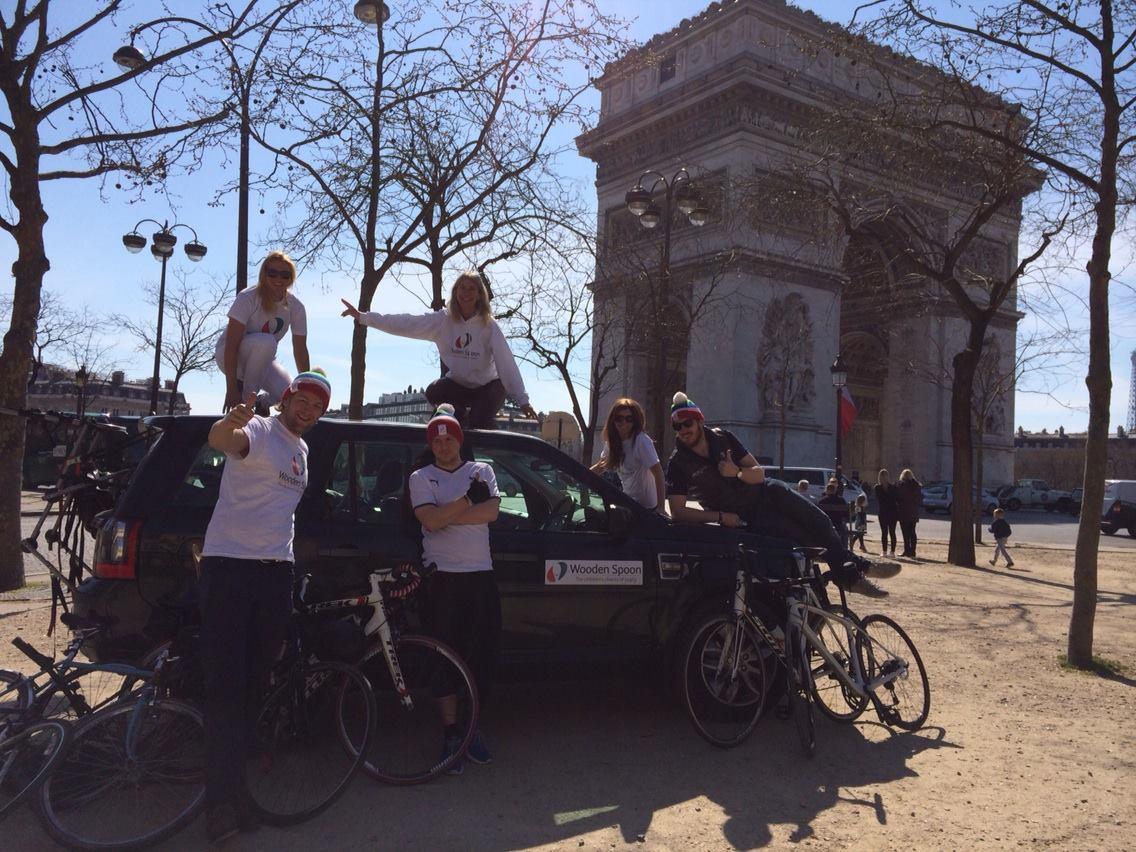 London to Paris charity bike ride