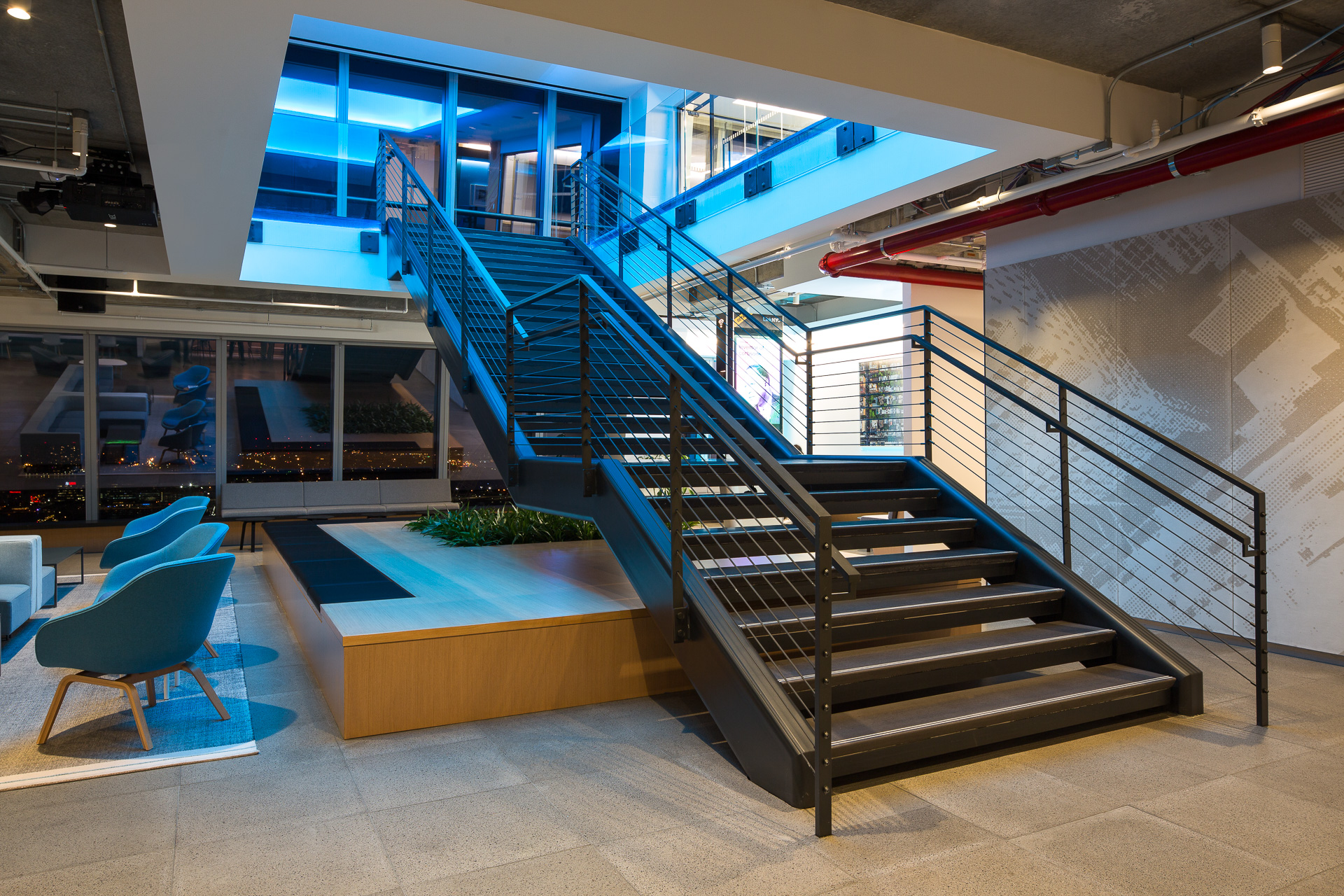 Get Real Surfaces concrete wall panels and stairs