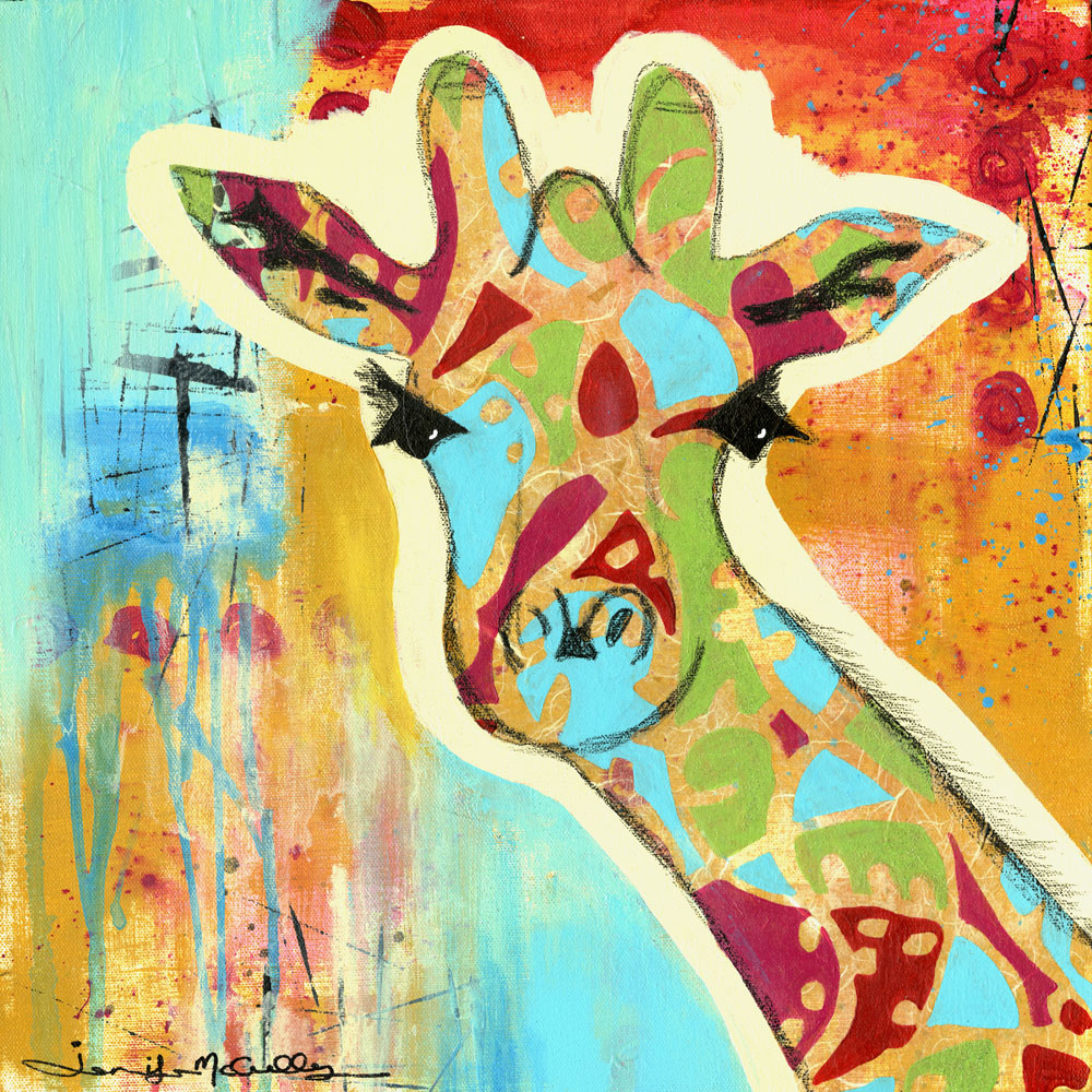 Calypso the Giraffe