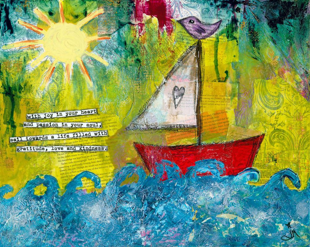 Sail Towards Love & Kindness