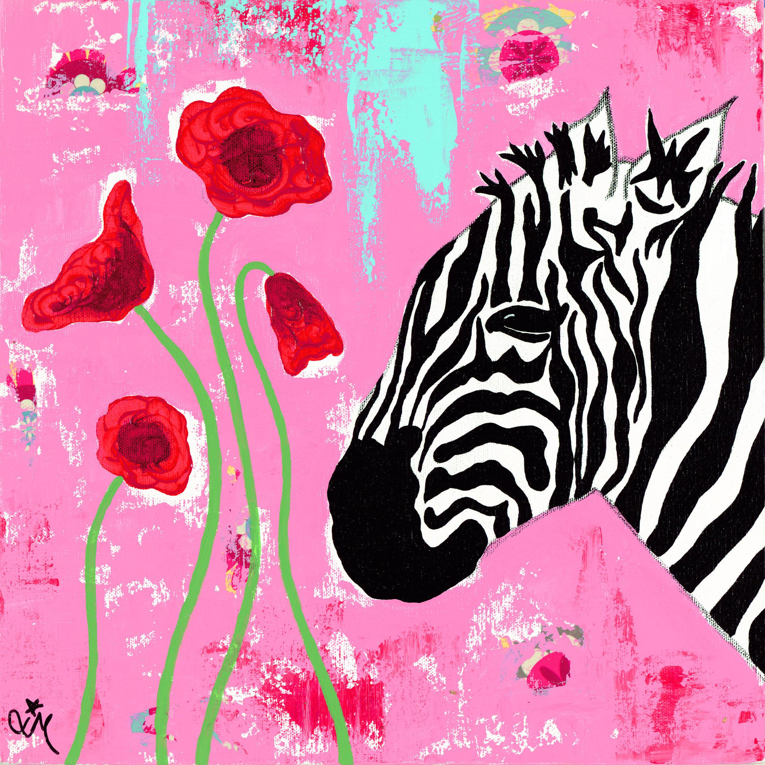 Stripes & Poppies