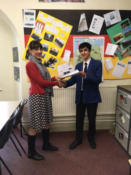1st Prize - Kian Moghaddas, Norwich School