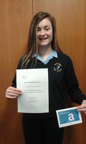 2nd Prize – Darcey Jessup – Farlingaye High School