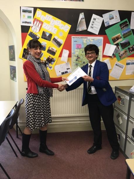 3rd Prize - Arjun Kamath, Norwich School