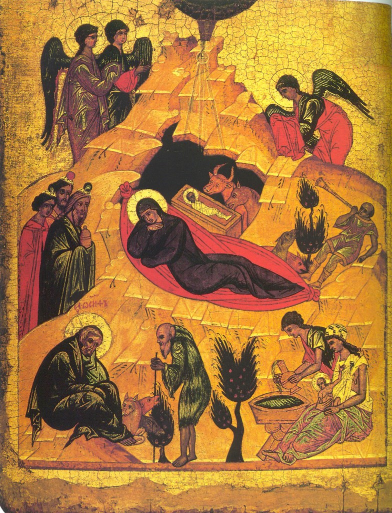 """The Nativity Of Our Lord and Savior Jesus Christ"" Rublev."