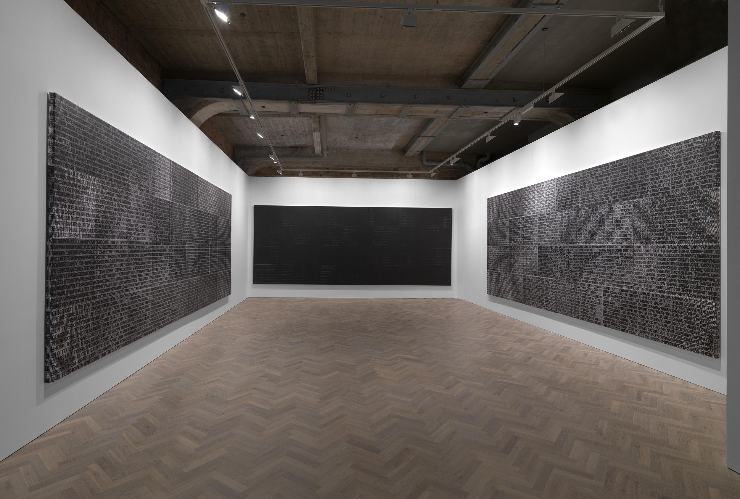 Glenn Ligon: Come Out, Thomas Dane, London