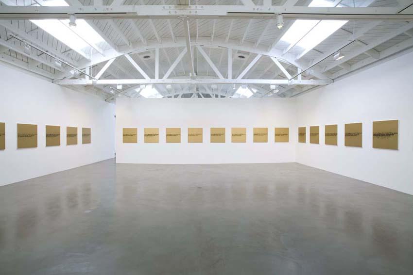 No Room (Gold), Regen Projects, CA
