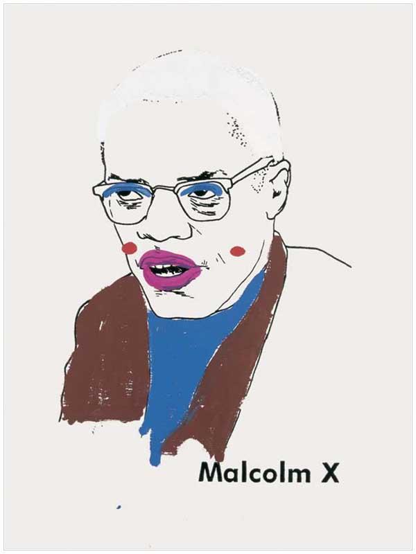 Malcolm X (Version 1) #1, 2000