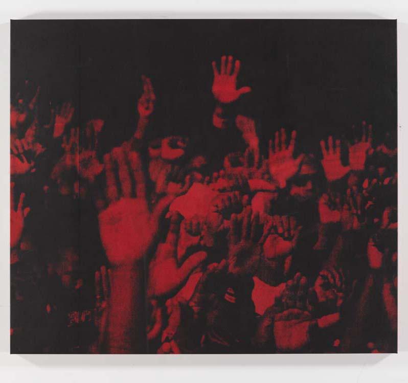 Red Hands #2, 1996