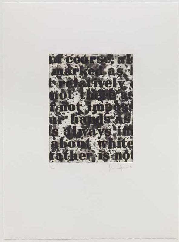 White #1, 1995