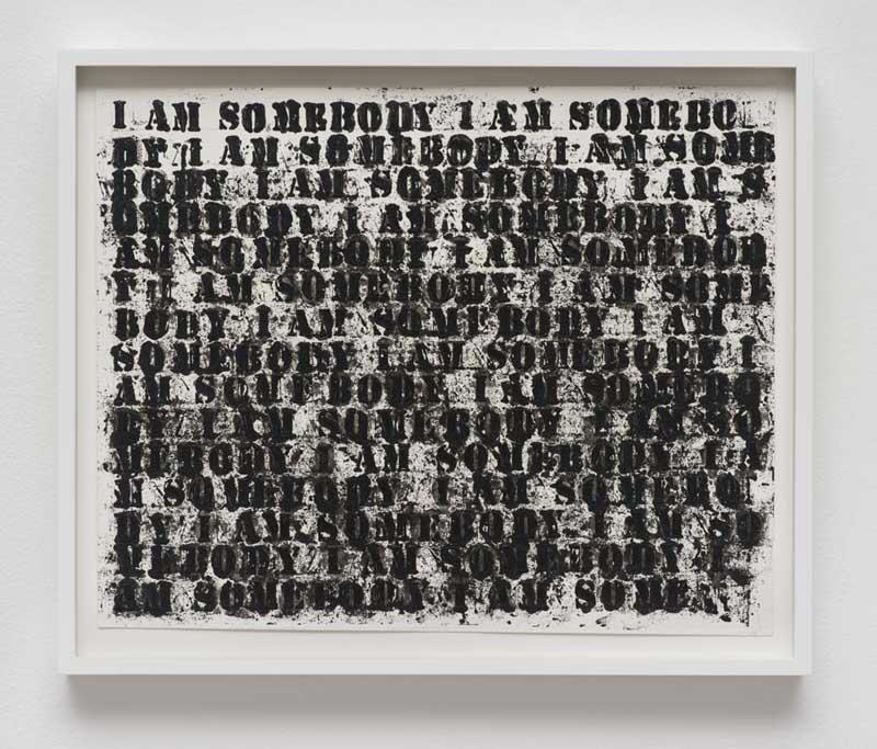 Untitled (I am Somebody 1), 2014