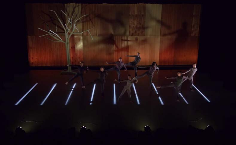 Set design, Abraham.In.Motion, The Watershed, 2014