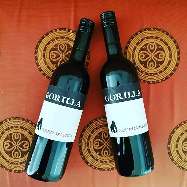 Two new additions to the Gorilla family.... #redwinelovers
