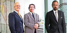 Jimmy Tate, Sergio Rok and Jorge Perez