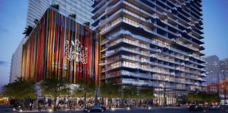 The Related Group wants to turn South Miami Avenue, which fronts its planned SLS Brickell condo-hotel project, into a pedestrian mall.