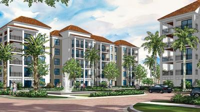 The 850 Boca community is expected to open for tenants in October. (Roger Fry & Associates Architects)