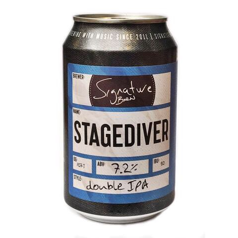 SIGNATURE BREW STAGEDIVER DOUBLE IPA