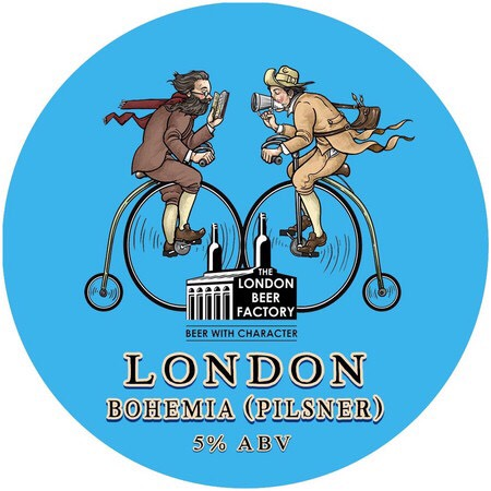 THE LONDON BEER FACTORY BOHEMIA LAGER