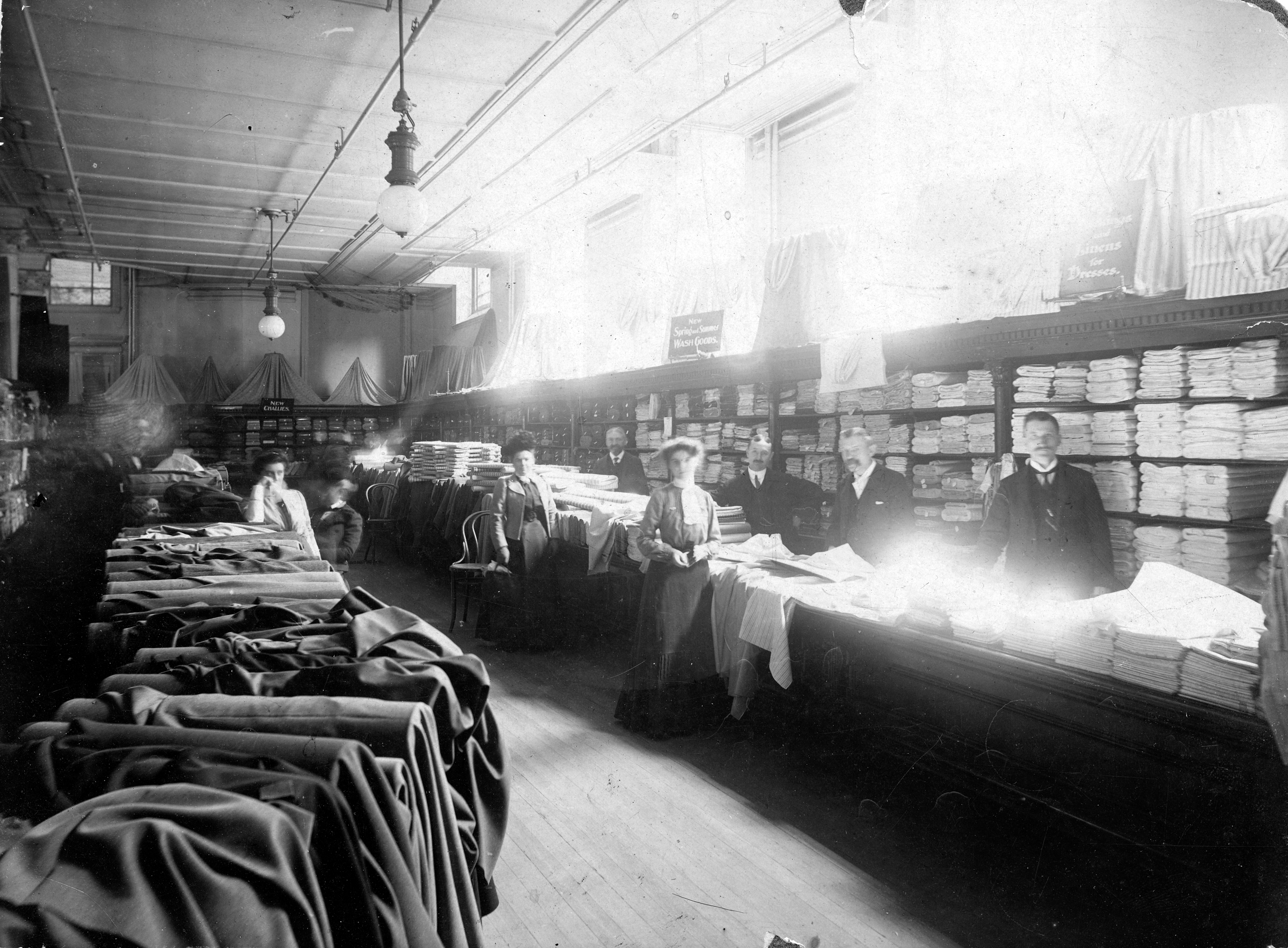 Clothing Department, Conrad & Chandler's