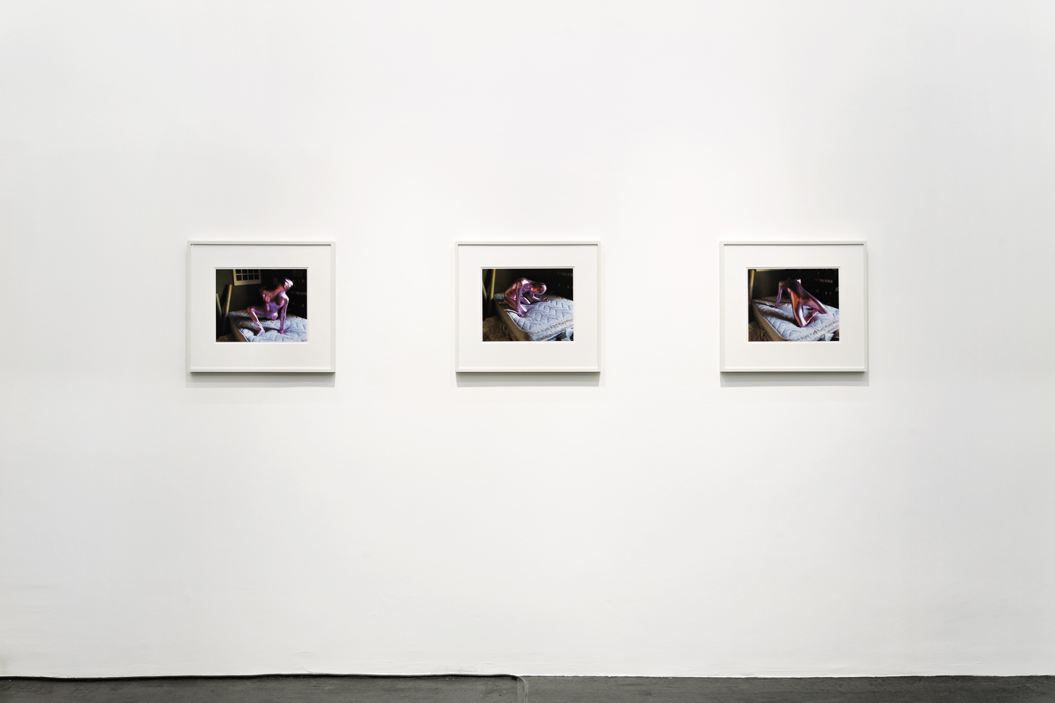 "The Thing  (2008) chromogenic print; 11.5"" x 15"" (collaboration with Luis Jacob)  Installation view at September Gallery, Berlin, Germany"