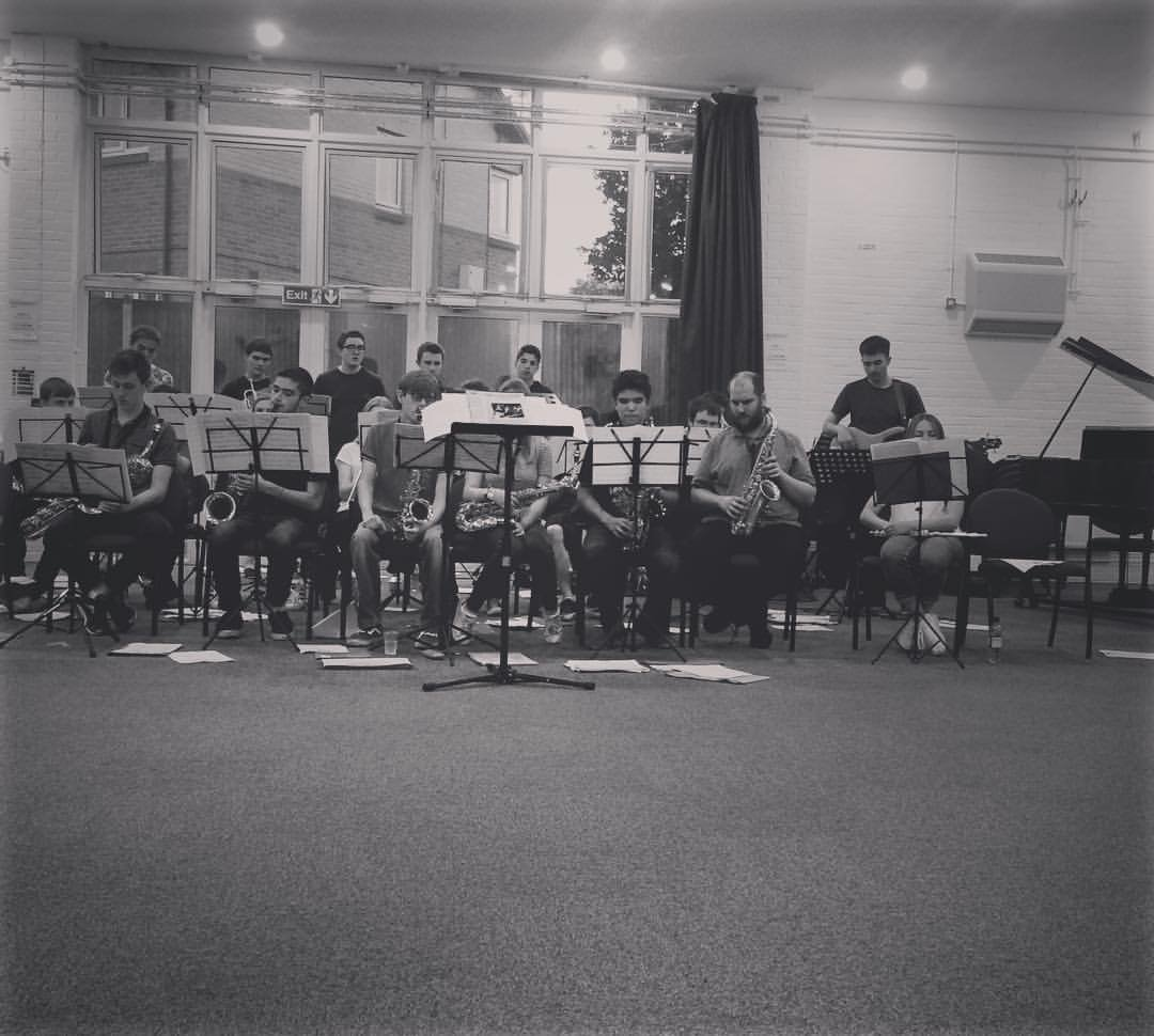 The Merton Youth Jazz Orchestra which I direct with Michael Chillingworth