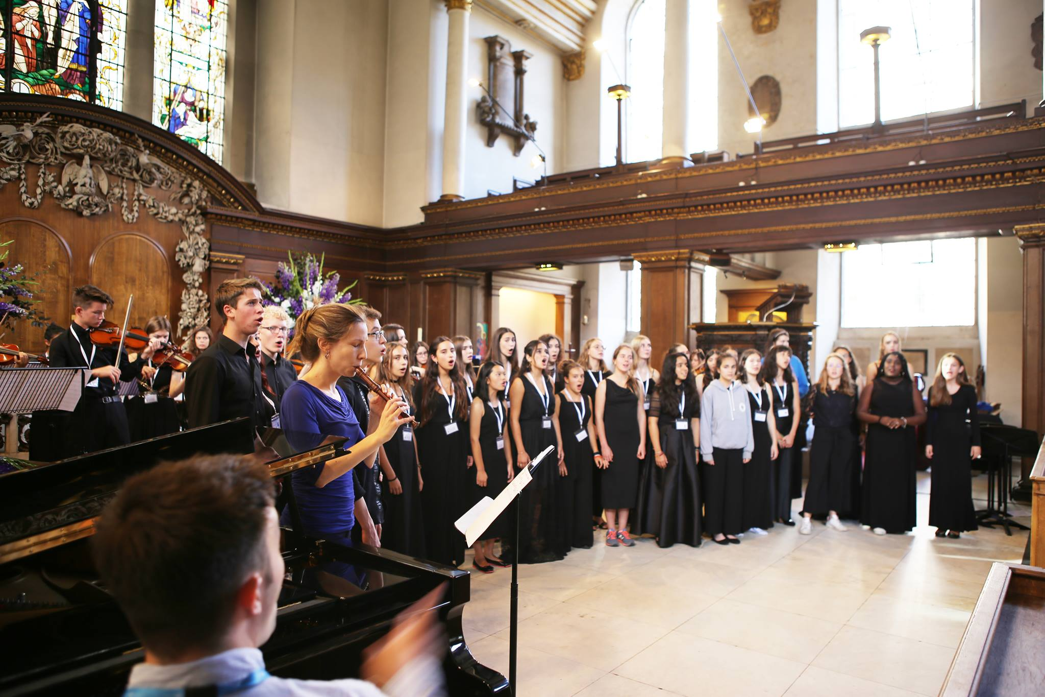 Ingenium Academy Concert at St James's Church, Picadilly