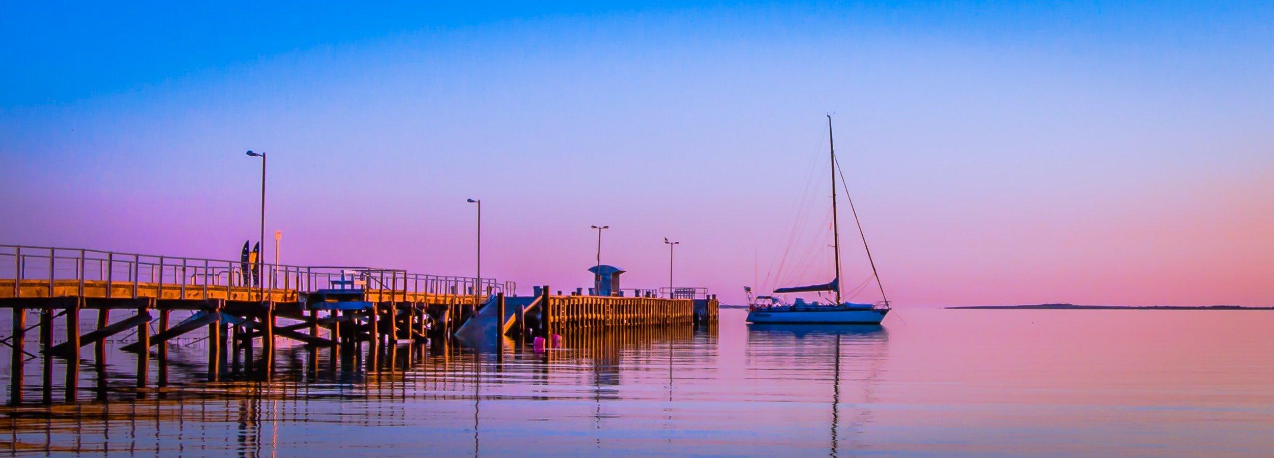 Morning light in South Australia.