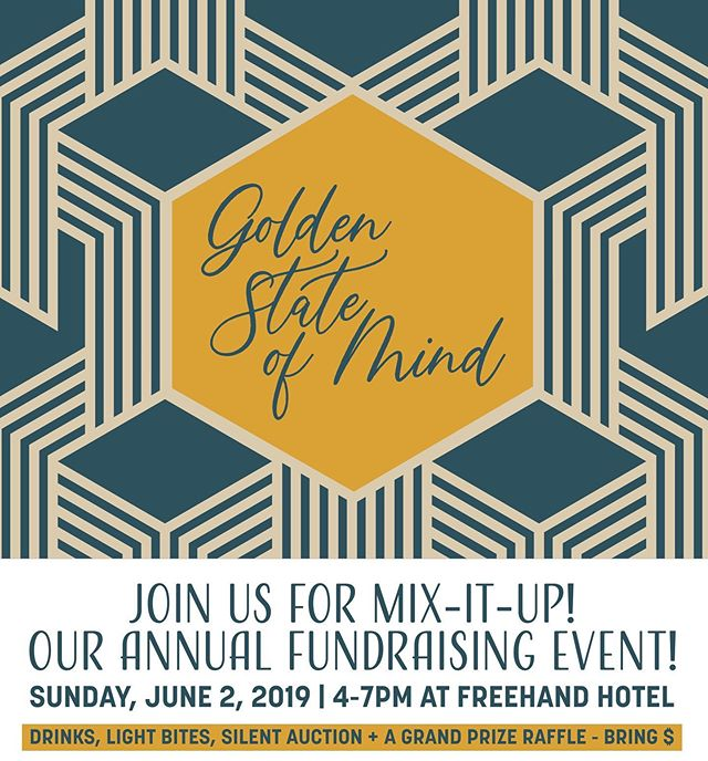 Everyone is invited to our annual fundraising event, MIX-IT-UP! - Join us on Sunday, June 2nd, 2019 at Freehand Hotel, DTLA and enjoy drinks, delectable hors d'oeuvres! Win fabulous prizes at our exclusive silent auction and raffles! - 🌟REGISTER VIA THE LINK IN BIO🌟 - •Location: Rudloph's Bar and Tea at Freehand Hotel (416 W. 8th St., Los Angeles, CA 90014) •Admission: Pre-sale: $40 until May 26th | Regular: $55 •Parking: $20 Valet at Freehand Hotel. $6.00 at Joe's Auto Parks (808 South Olive Street Los Angeles, CA 90014) & other public parking lots •Summer cocktail attire. (No ties required) - All proceeds will help us raise the funds necessary to furnish two apartments to help former foster youth and prevent homelessness.  DONATE: https://www.gofundme.com/a-sense-of-home