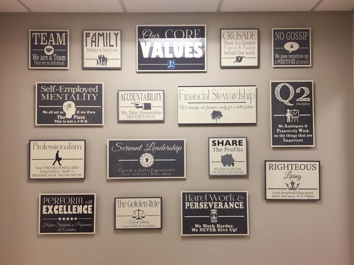 You can create a similar set to these on the modern Metal Float system. Metal Float CORE VALUES Signs with Your Company Logo Added - Ramsey Office Model Wall of Words - Company Values - Staff Motivational Office Decor - Show Off Your True Colors to Your Customers or Clients!