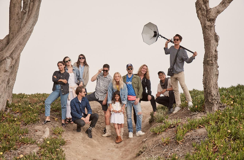 Location: Santa Barbara, California. Crew wrap shot (with the best crew ever).