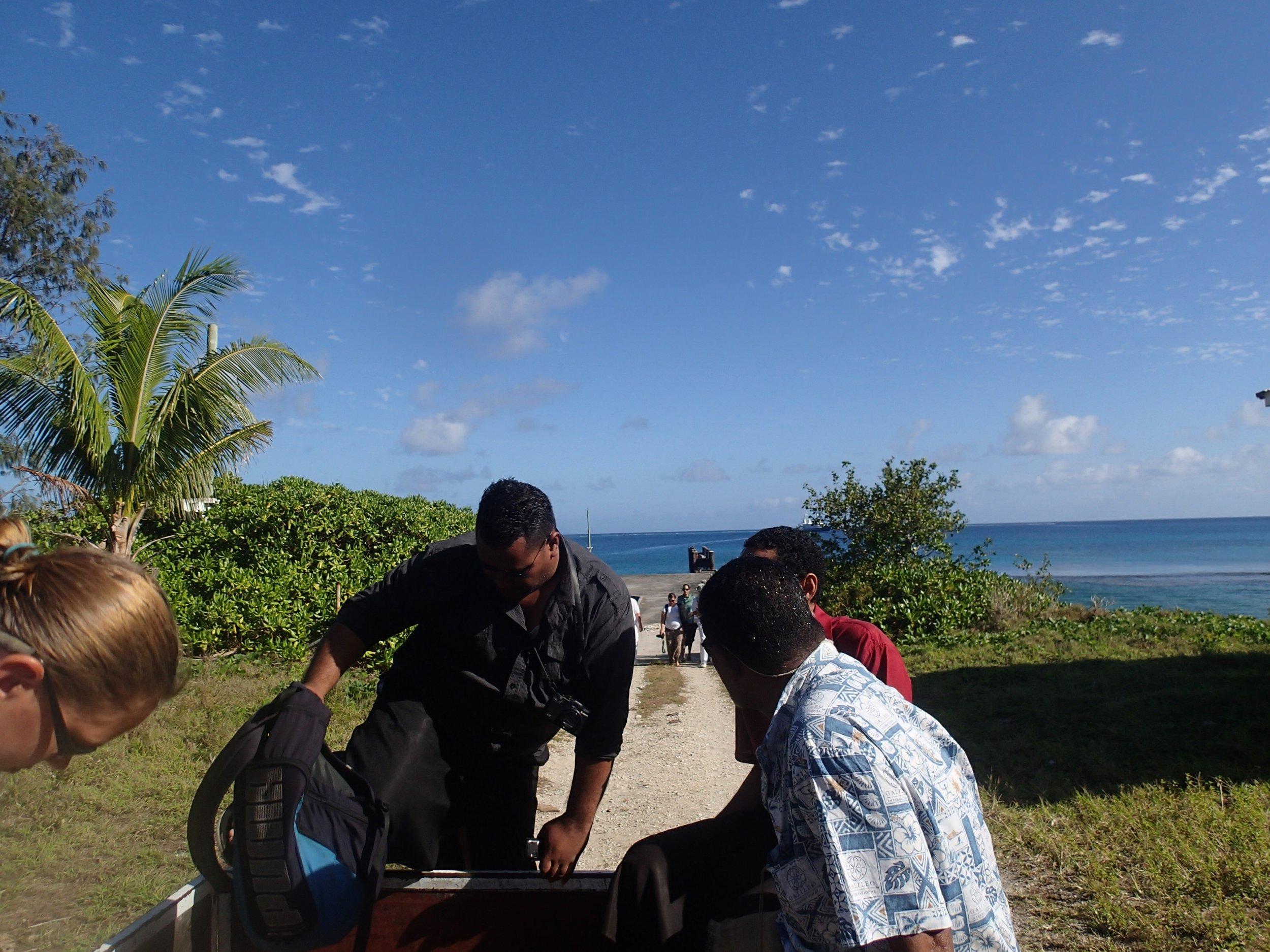 Tongans in the bus.JPG