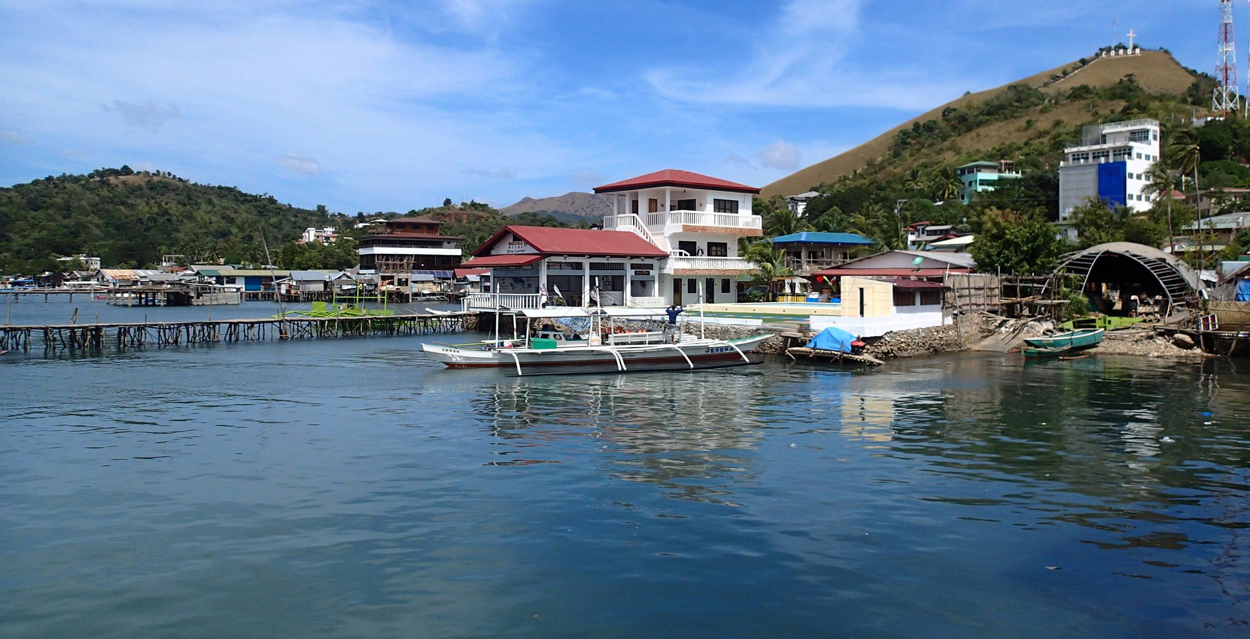Coron town waterfront.jpg