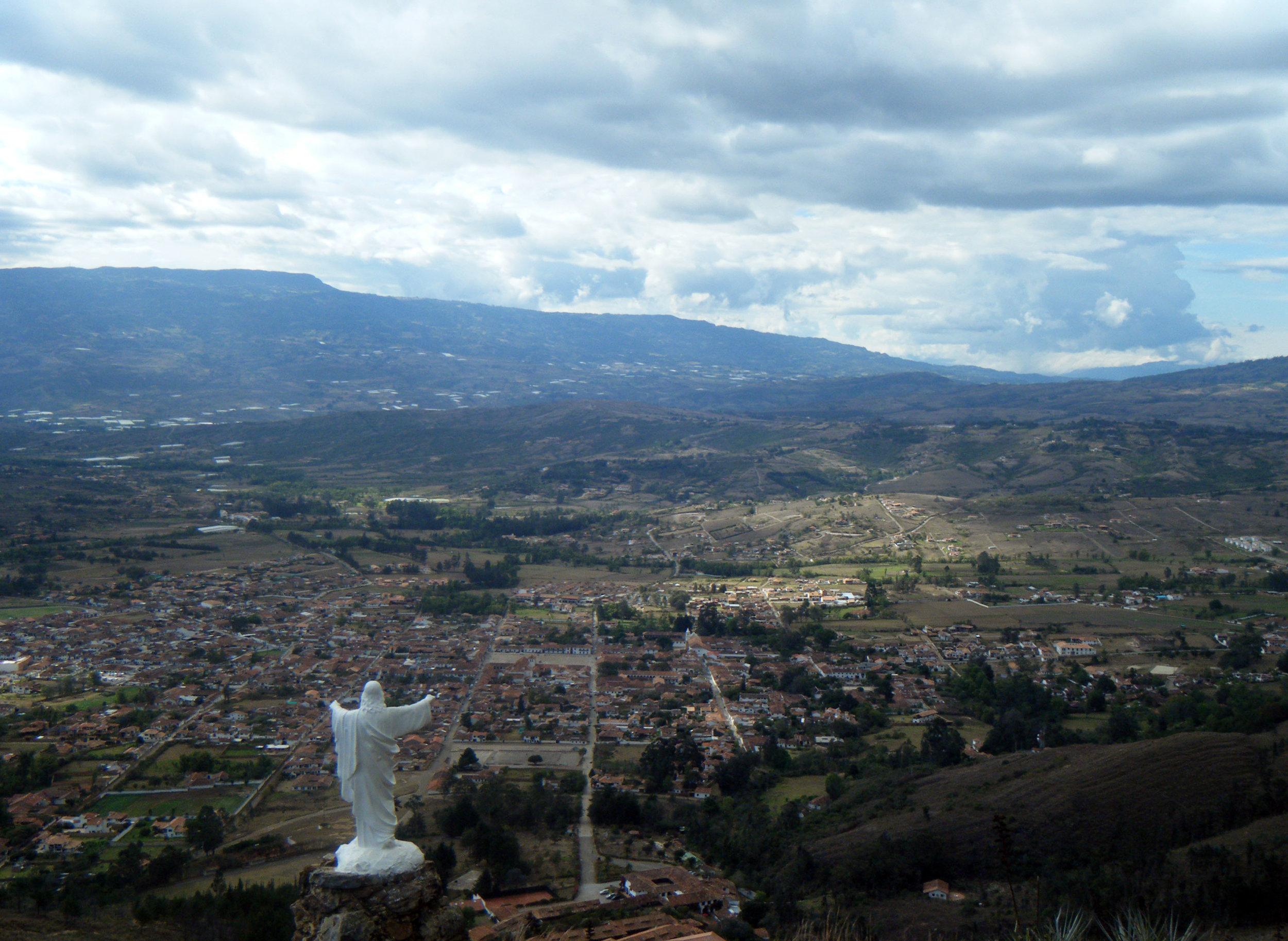 Jesus and Villa de Leyva.jpg