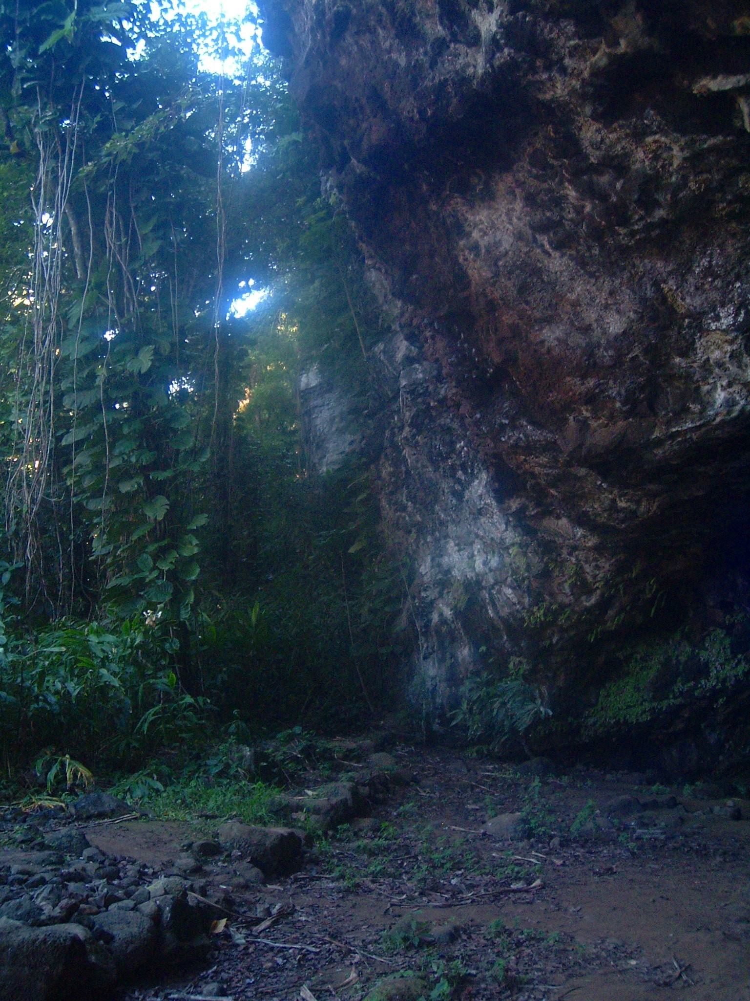 kauai cave entrance.JPG