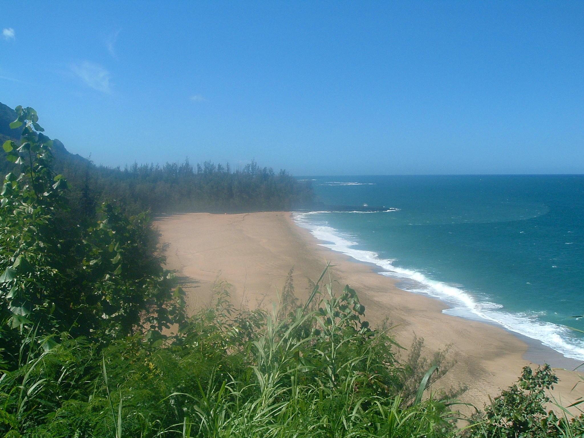 north shore beach kauai.JPG