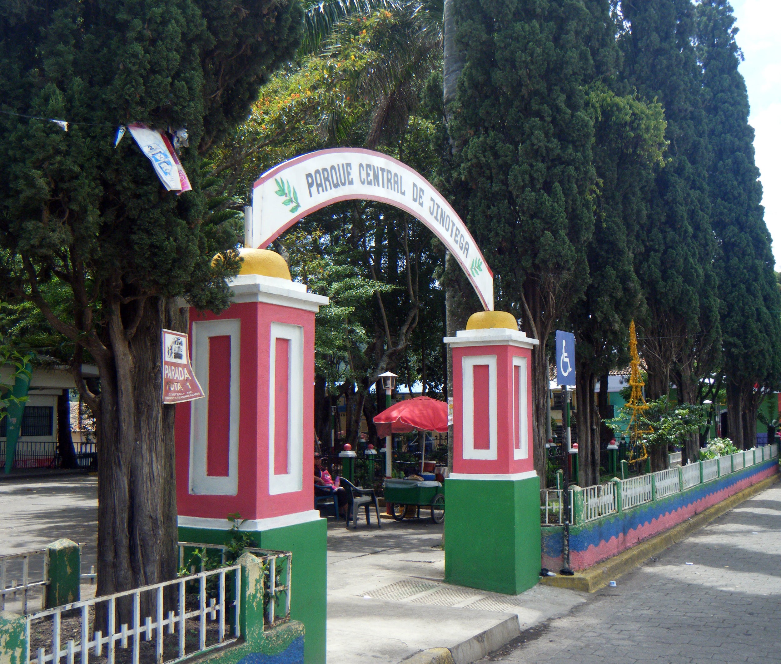 parque central de Jinotega.jpg