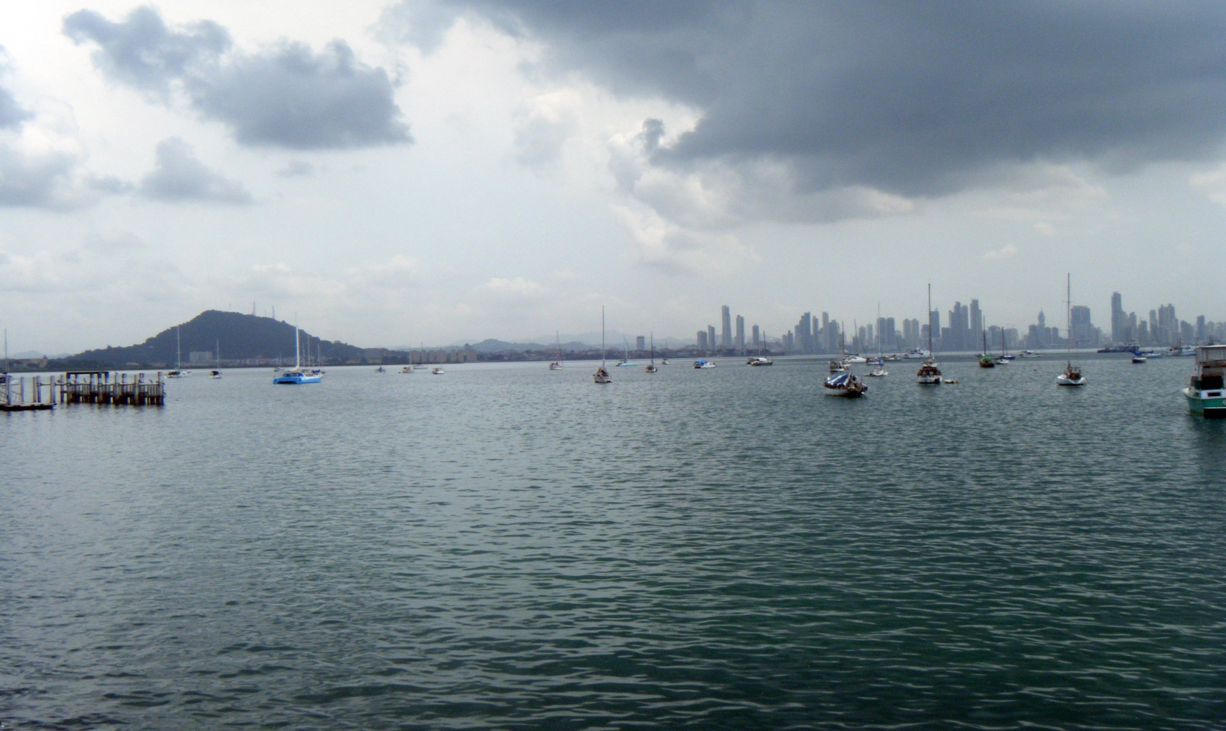 Panama City from the causeway.jpg