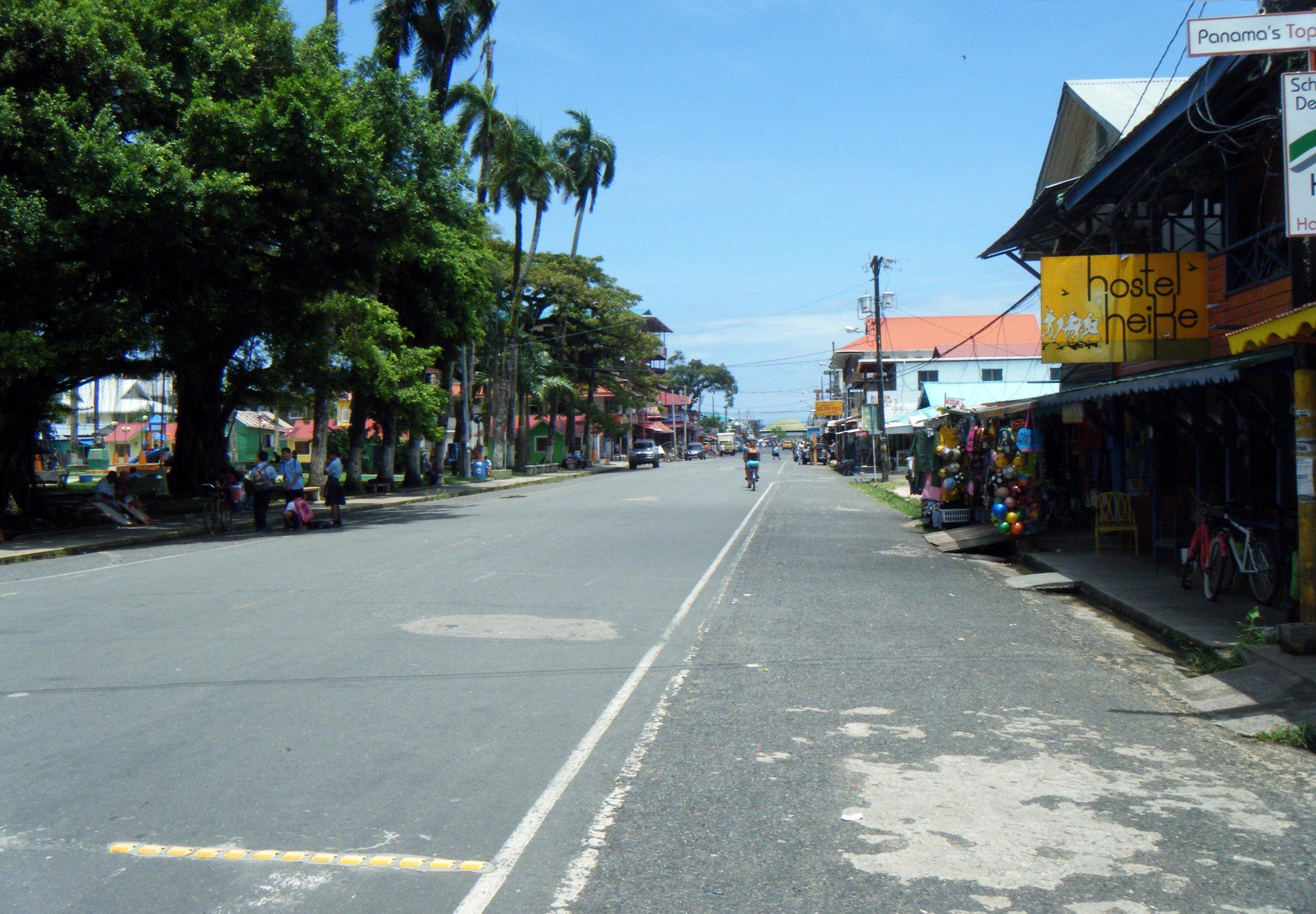 Bocas del Toro main drag.jpg
