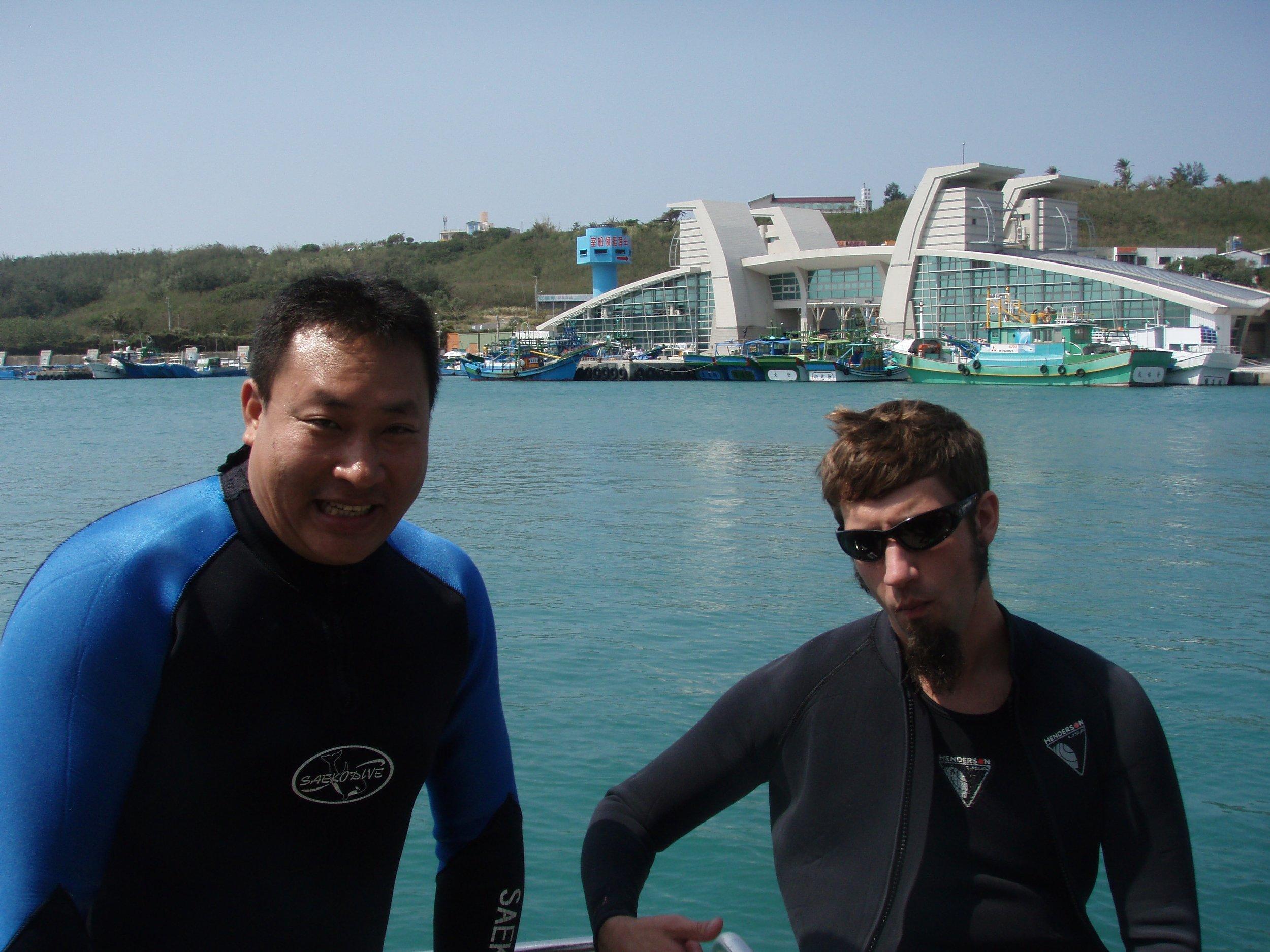 weijay, me, and coast guard.jpg