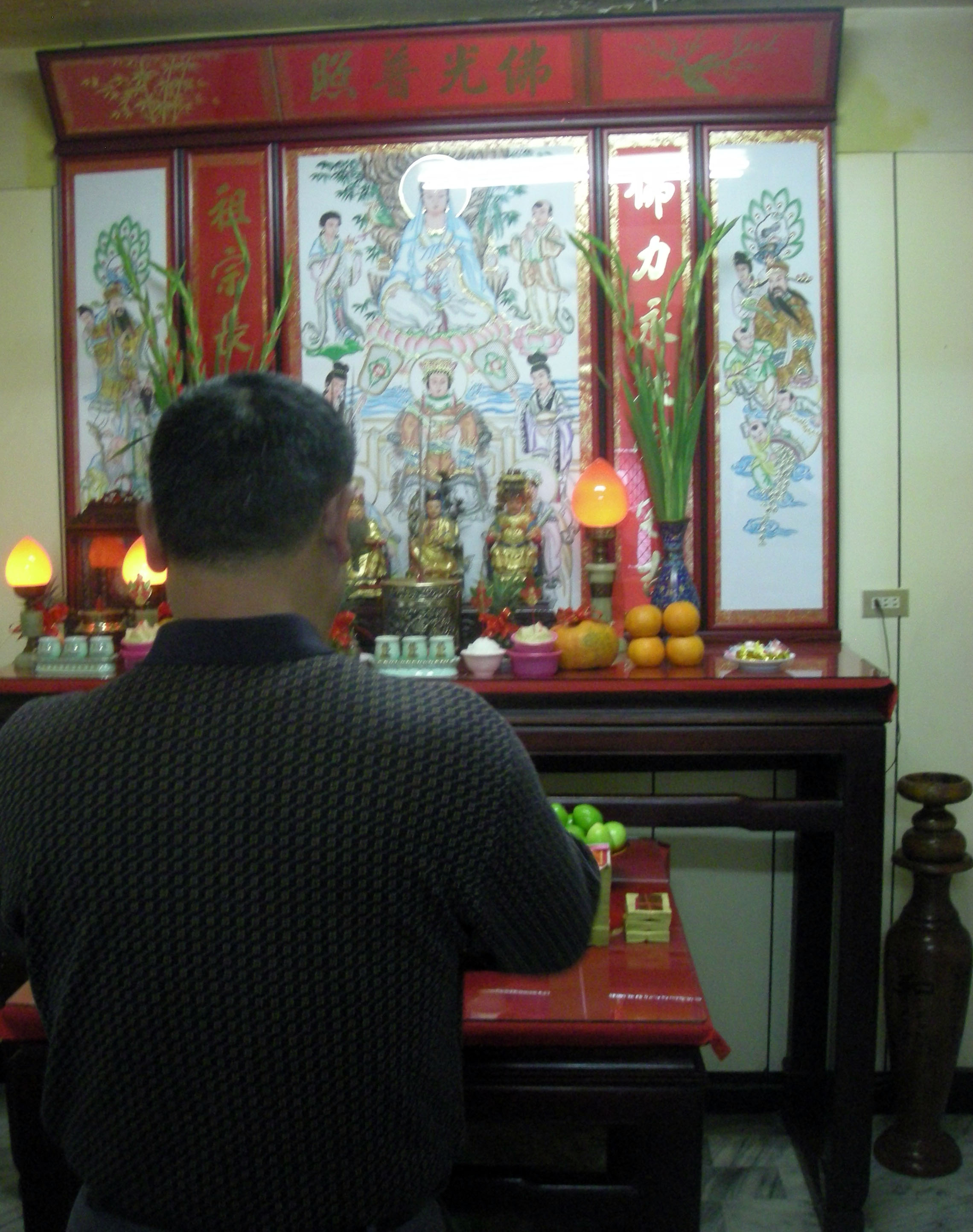Uncle's dad praying.jpg